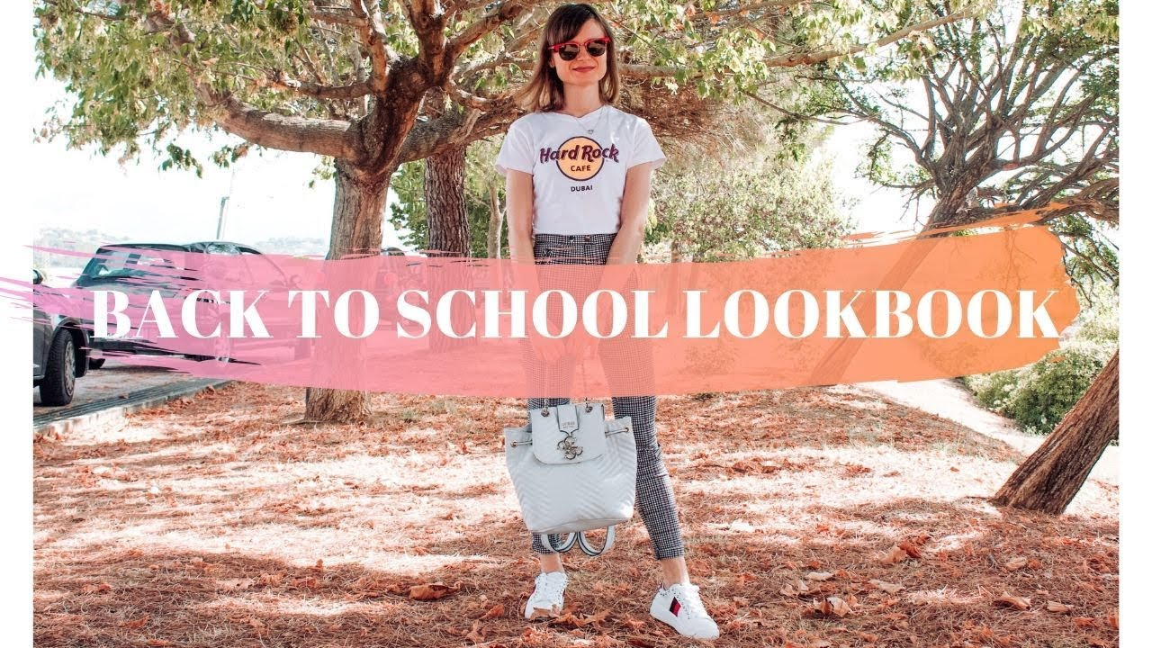 CHIC BACK TO SCHOOL/UNIVERSITY: 8 OUTFITS IDEAS