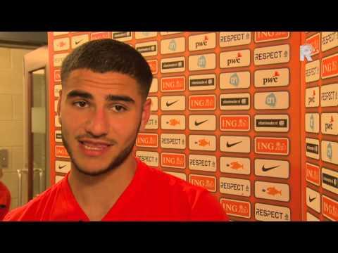 Spartaan Huseyin Dogan speelde de tweede helft bij Oranje O20
