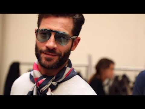 Giorgio Armani Men's SS20 fashion show – Backstage Video