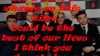 The Wanted - Could This Be Love (lyrics)