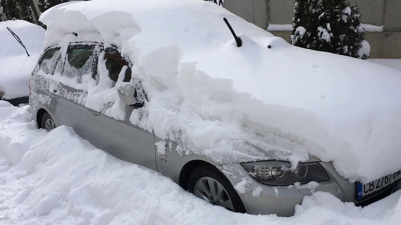 Bmw E91 Xdrive No Snow Problem