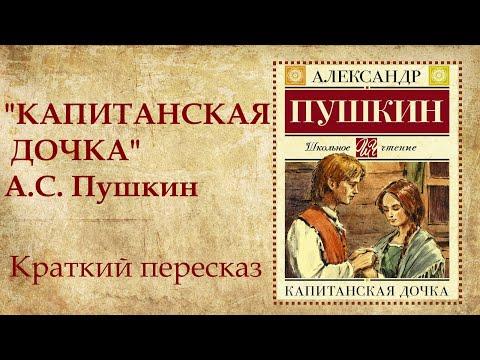 Капитанская дочка Пушкин краткое содержание по главам