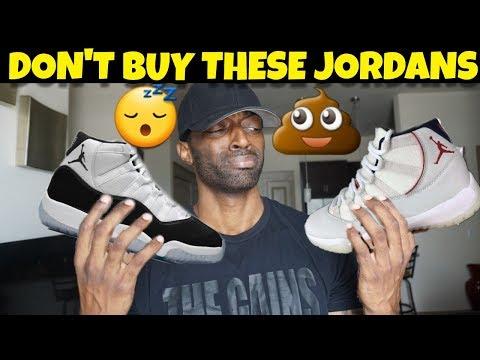1st Look: Jordan 11 Platinum Tint / Jordan 11 Concord Are Trash