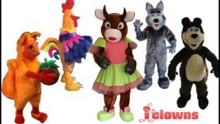 Ростовые куклы изготовление на заказ для праздников, промо акций, театра, шоу(, 2017-06-05T16:24:37.000Z)