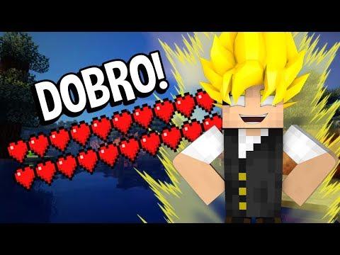 Minecraft Reverso #3: COMO CONSEGUIR O DOBRO DE VIDA NO MINECRAFT!!!