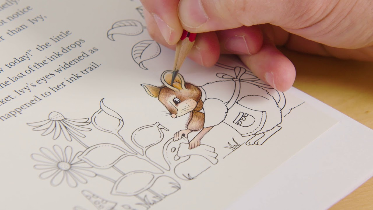 Tutorial : How to Colour House Mouse - YouTube