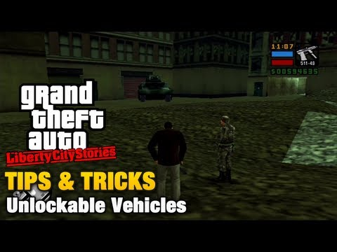 Gta Liberty City Stories Tips Tricks Unlockable Vehicles