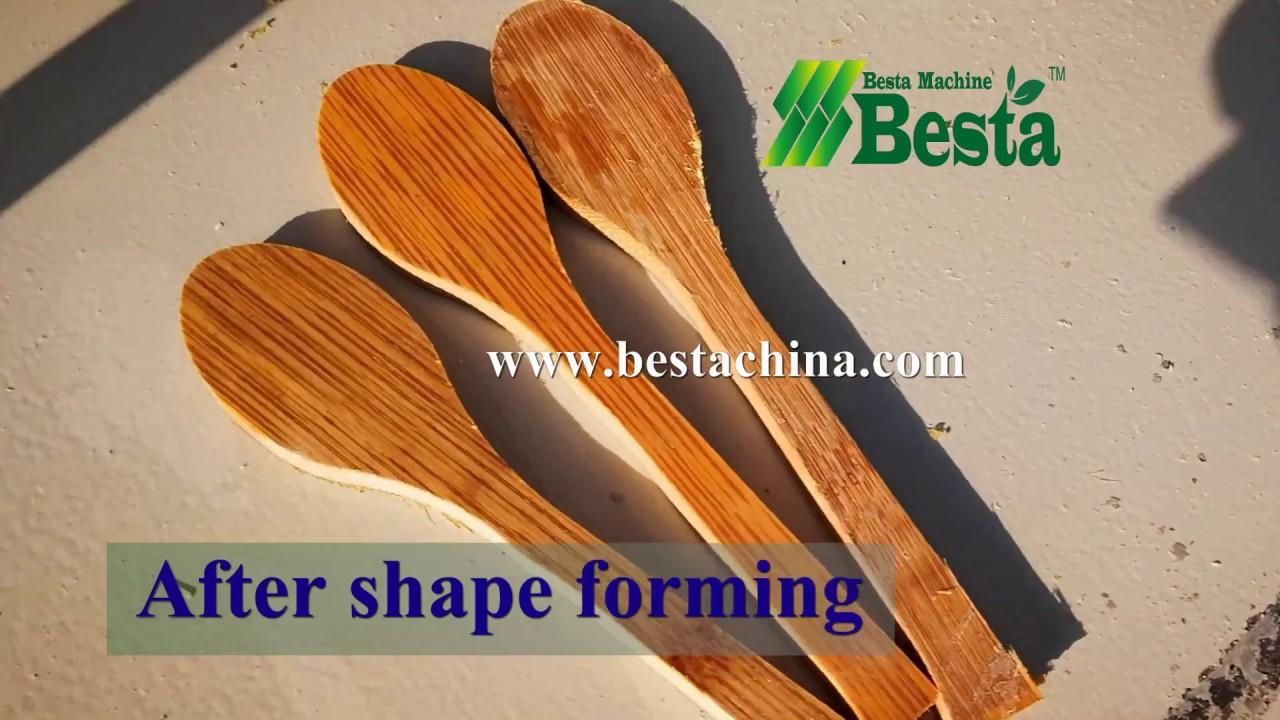 Bamboo Spoon Making Machine Video , Bamboo Spoon Machinery -BESTA