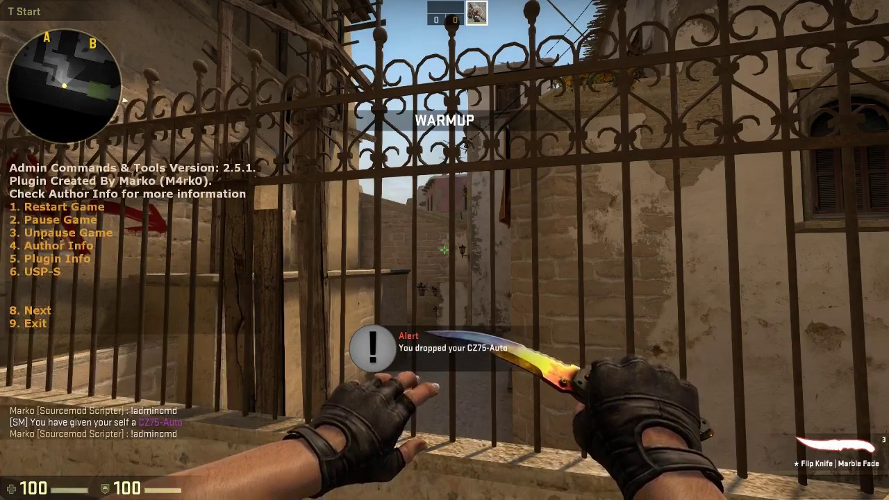Admin Commands & Tools Sourcemod - Counter Strike Global Offensive