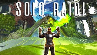 SOLO Player DEFENDS from Counter-Raiders TWICE! - ARK Solo PvP