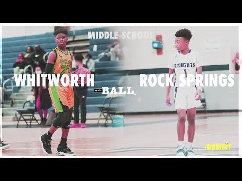 Middle School Basketball    WHITWORTH (Murfreesboro,TN) VS ROCKSPRINGS Smyrna,TN) : 8th Grade Night