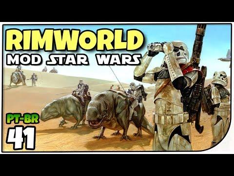 Rimworld Star Wars #41 - Unindo as Colónias - Gameplay em Português (PT-BR)