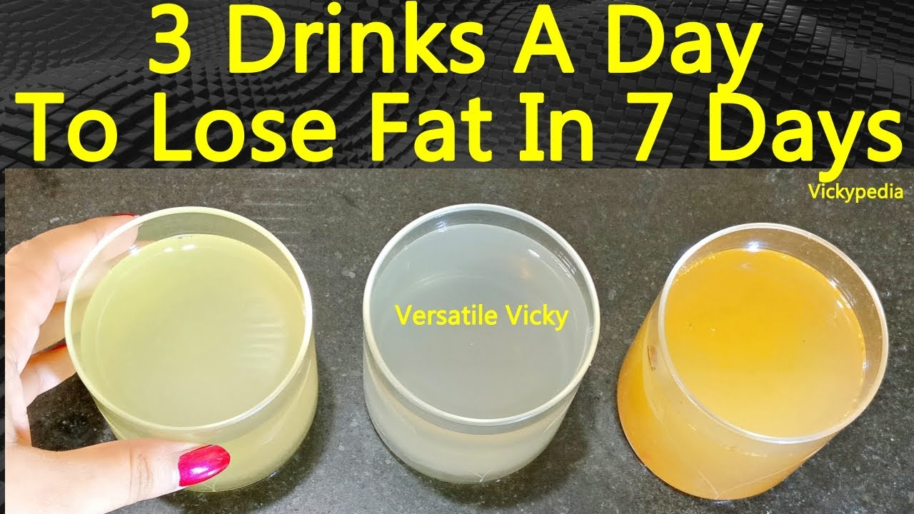 lose belly fat fast drink