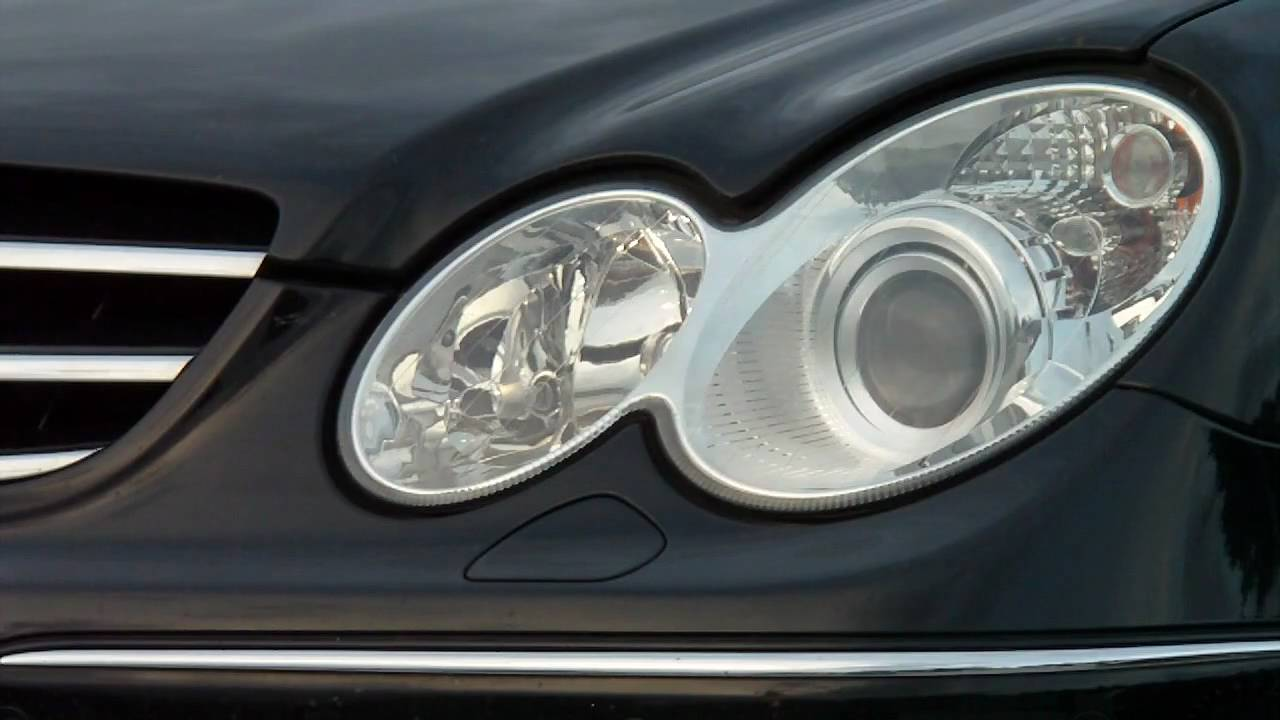 Dazzling headlights problem mbclub uk bringing for Mercedes benz headlight problems