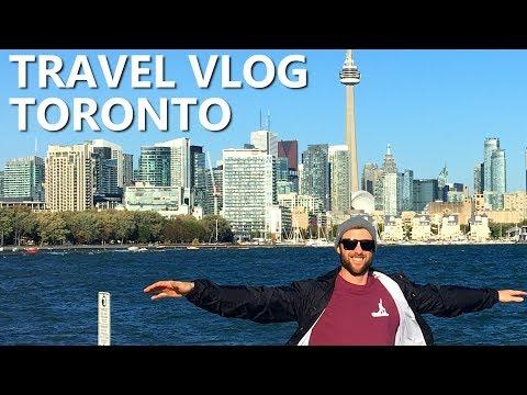 Toronto Travel Vlog - Yoga, Food & Winter Plans