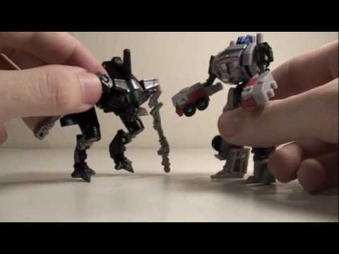 Transformers 2 ROTF Movie Legends Optimus Prime & Jetfire Review
