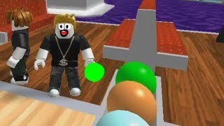 УБЕГАЕМ из БОУЛИНГ КЛУБА мультик игра ПОБЕГ из боулинга Escape The Bowling Alley ROBLOX