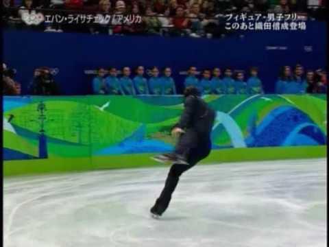 Evan Lysacek - 2010 Olympics Free Skate