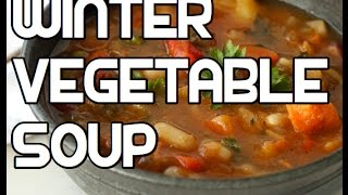 Winter Vegetable Soup Recipe - Root Veg Healthy