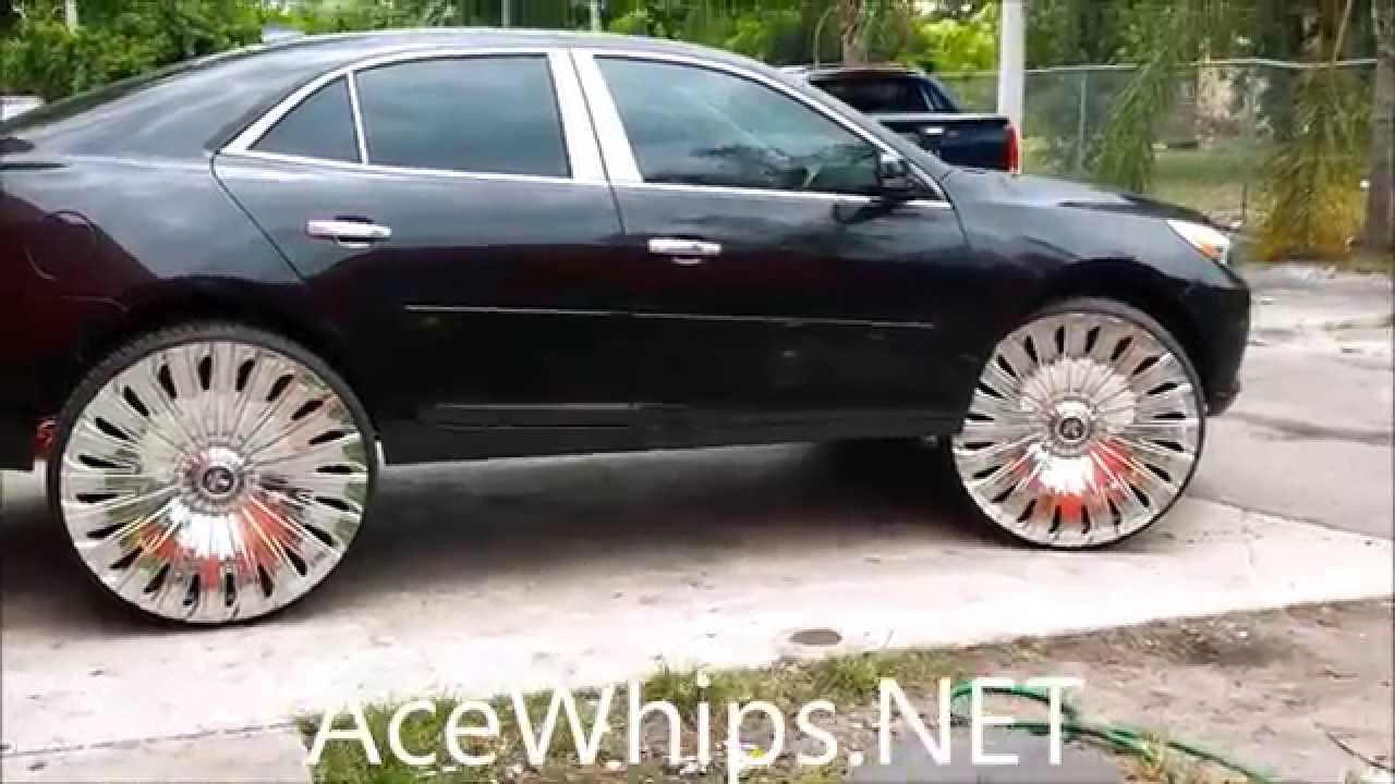 Acewhips Net Von S 2014 Chevy Malibu On 28 Quot Dub Skinnie
