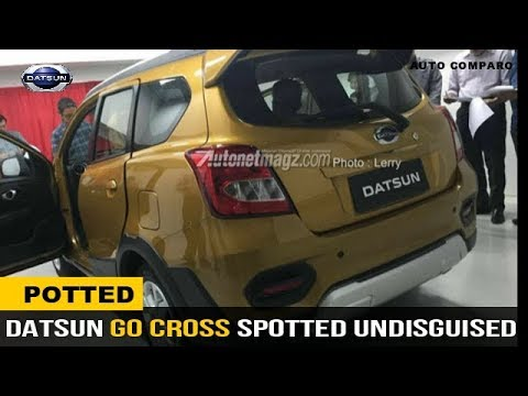 SPOTTED ! DATSUN GO CROSS 7 SEATER SPOTTED WITHOUT CAMOUFLAGE