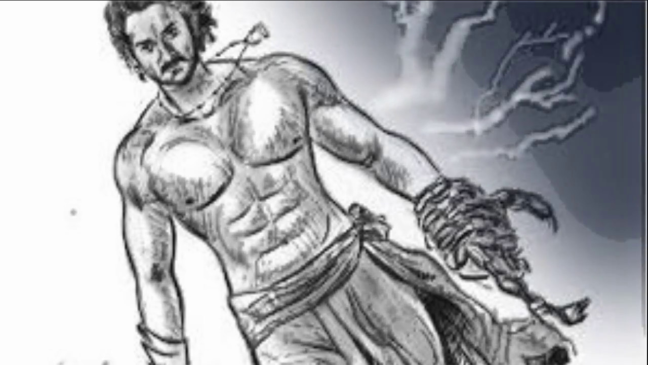 Bahubali pencil sketch bahubali 2 movie pictures bahubali movie hd videos