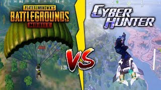 Pubg Mobile Vs Cyber Hunter Which One Is Best  Game Comparison