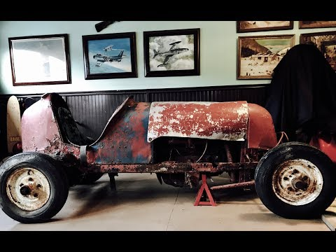 Antique Midget Race Car! we bring home a classic Midget Racer Project, can it be fixed?