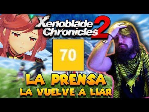 Xenoblade Chronicles 2 es víctima de la incompetencia | La Prensa NO SABE hacer su trabajo