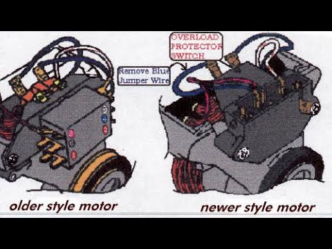 OLDER MAYTAG DRYER — HOW TO WIRE THE MOTOR - YouTube | Dryer Motor Wiring Harness Layout |  | YouTube