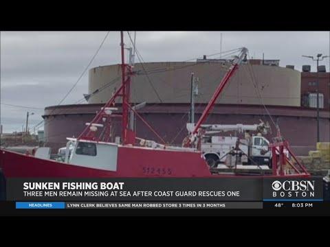 3 Fishermen Missing At Sea After Boat Sinks