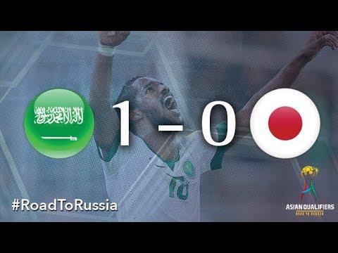 Saudi arabia vs japan (2018 fifa world cup qualifiers)