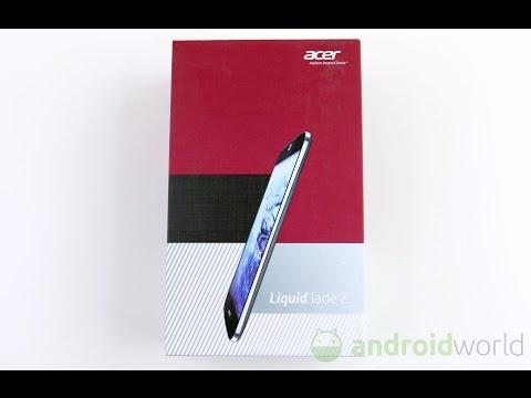 Acer Liquid Jade Z, unboxing in italiano