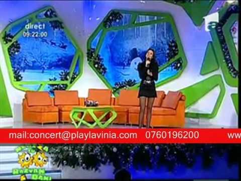 Lavinia - A venit iar Craciunul [Neata cu Razvan si Dani / Antena 1]