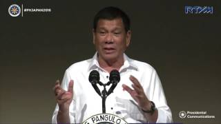 Address Before the Philippine Economic Forum 10/26/2016
