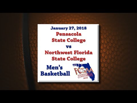 Panhandle Conference 2018 - PSC @ NWFSC - January 27, 2018 - Men's Basketball