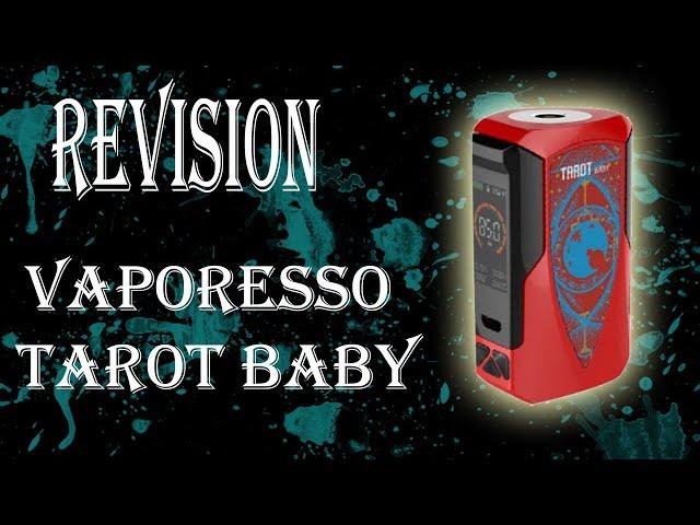 Vaporesso Tarot Baby Box Mod. Revisión en Español
