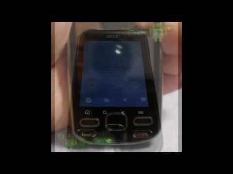 Фотоколлаж СМАРТФОНА Acer beTouch E140 с OS Android FROYO 2.2