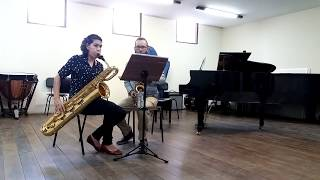 Beethoven | Duo II: Allegro affettuoso  | Adapted for Saxophones