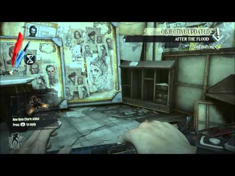 Flooded district - All Runes, Bone Charms, Safes and Sokolov Paintings (no blueprints) - Dishonored