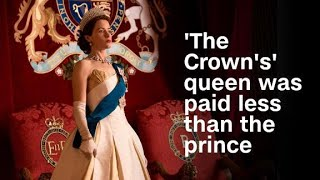Video 'The Crown's' queen was paid less than her... download MP3, 3GP, MP4, WEBM, AVI, FLV Juli 2018
