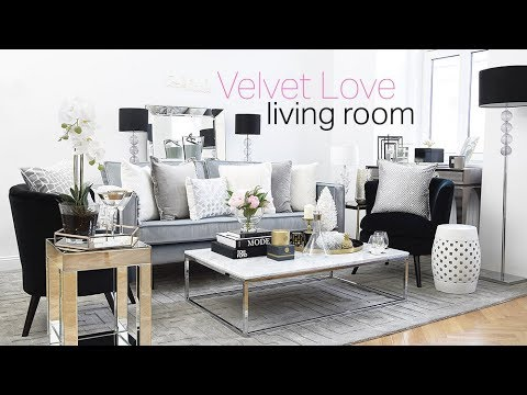 Interior Design I Pure Velvet Love Living Room I Decorating Ideas I  Makeover Roomtour