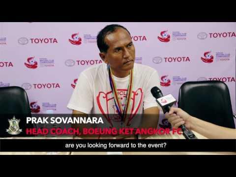 TMCC 2016 Interview with Prak Sovannara Head Coach of Boeung Ket Angkor FC