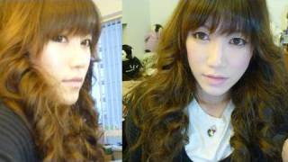 Oh! Big Curly Hair [Jessica (SNSD) Inspired]