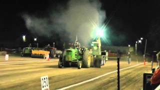 John Deere 4320 Pulling 14000# Farm Stock