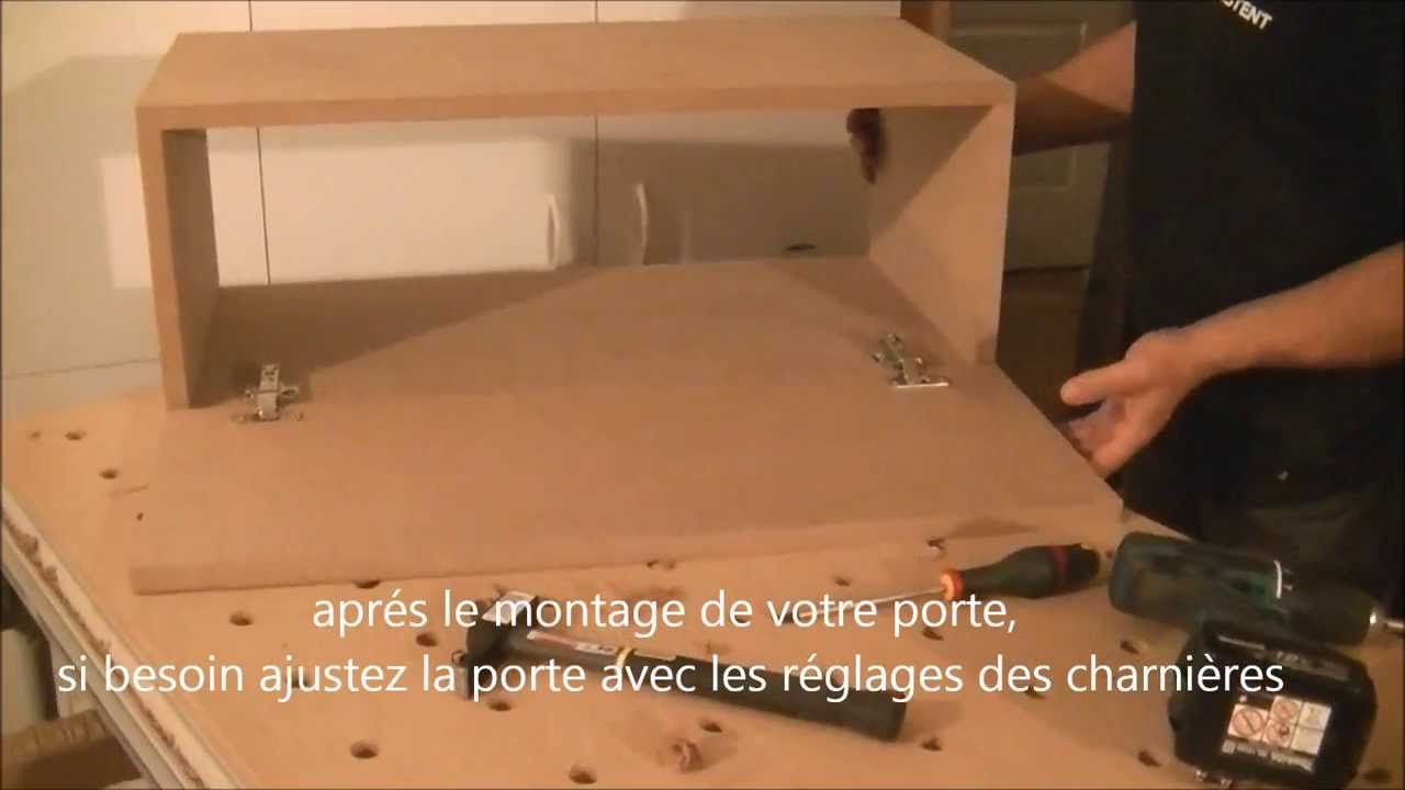 part 4 comment installer des charni res avec les gabarits et guides de per age assistent youtube. Black Bedroom Furniture Sets. Home Design Ideas