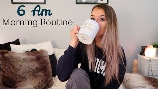 6 AM morning routine for work (grwm for my 9-5 job)