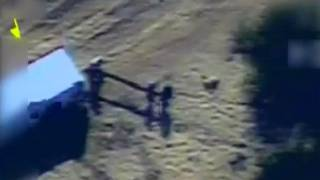 Video of Terrorist Squad Preparing to Launch Rocket From Gaza at Israel