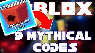 ALL NEW 9 MYTHICAL CODES | MINING SIMULATOR PETS UPDATE | ROBLOX