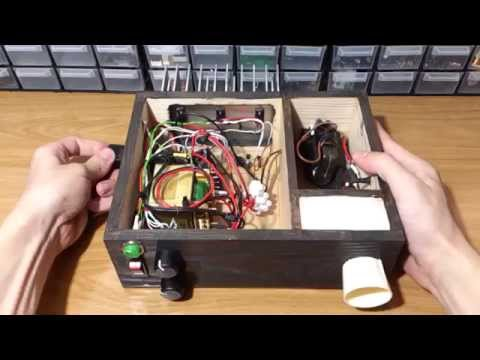 Homemade 50kV High Voltage Power Supply + How to build one